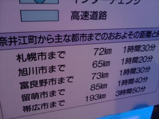 道の駅ハウスヤルビ奈井江にて