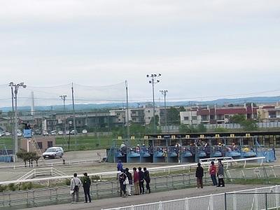 第6レース ゲート入り