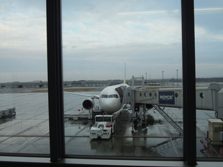 千歳→羽田の飛行機